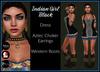 [DB] Native American Costume Black - Complete Outfit - Slink, Maitreya, Belleza