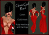 [DB] Glam Gown Red - Complete Outfit - Maitreya Belleza Slink