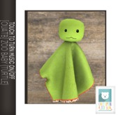 [OUATB]ZOO BABY BLANKIES-squirt