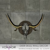 Von Noir - Deer Skull Wall Decor