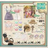 `M.BIRDIE / BonoBona look. Bracelet set1