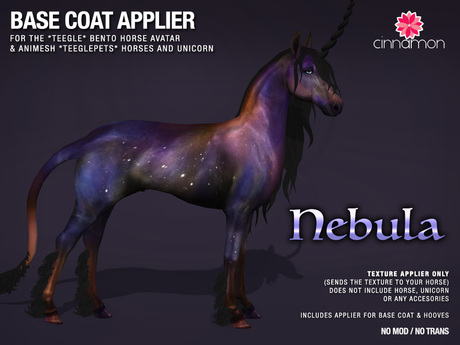 *CINNAMON* Teegle base coat _ Nebula