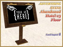 ADVERTISING STAND Abandoned Hotel v3 Floor (1 LI)