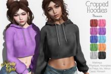 NG - Cropped Hoodies Basics