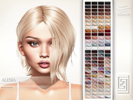 eXxEsS Mesh Hair : Alesia Demo