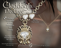 ♔Claddagh Necklace