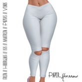 Paper.Sparrow - White - Imogen Yoga Pants  ((ADD ME))
