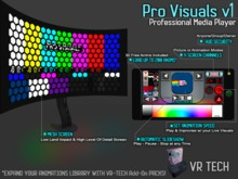 VR-TECH PRO VISUALS OLED CURVED SCREEN