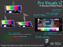 VR-TECH PRO VISUALS OLED SCI-FI SCREENS