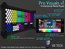 VR-TECH PRO VISUALS OLED HEXAGONS SCREEN