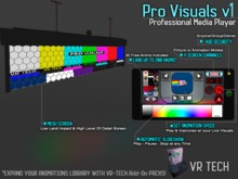 VR-TECH PRO VISUALS OLED HANGING SCREEN