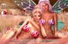 PinkRayne Flower Fairy Outfit & Wings with 5 colour HUD