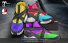 PinkRayne Jordan Trainers with 8 colour HUD