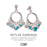 Cae :: Skylar :: Earrings [bagged]