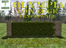QG Olympia Low Hedge fence /wall