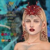 :: ANTAYA :: Coral earrings and tiara (wear)