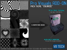 VR-TECH  COLORIZE ADD-ON FOR PRO VISUALS