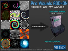VR-TECH SPIRALLING ADD-ON FOR PRO VISUALS