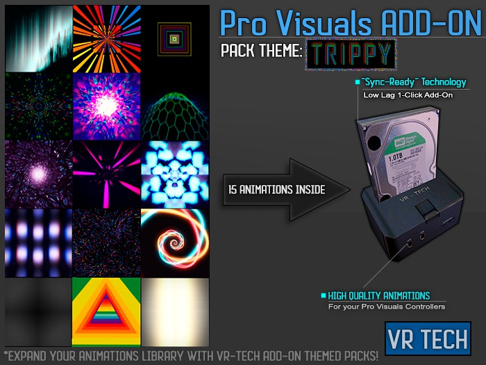 VR-TECH TRIPPY ADD-ON FOR PRO VISUALS