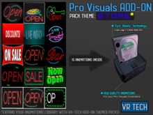 VR-TECH STORE ADD-ON FOR PRO VISUALS