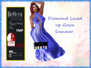 *TA* Diamond Laced up Gown Summer