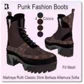 Blackburns Punk Fashion Boots 4 Sizes 4 Colors