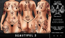 KAOS BEAUTIFUL 2 TATTOO