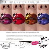 """CATWa HD Lips HD Lipstick 3D """"Star Sticker"""""""