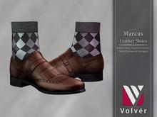 //Volver// Marcus Shoes - Dark Brown