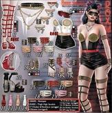 Roxy Choker & Necklace - Black - Common