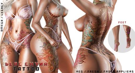 Hoodlem - Blac Chyna Tattoo