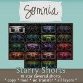 .: Somnia :. Starry Shorts {BOXED}