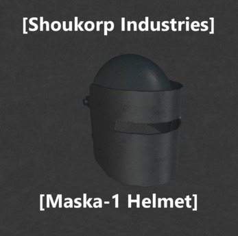 Second Life Marketplace Shoukorp Maska 1 Helmet I was in the presence this quality helmet allowed me to convert countless people to worship our lord in savior tachanka. shoukorp maska 1 helmet