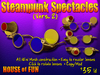 Steampunk Spectacles Glasses (Version 2)