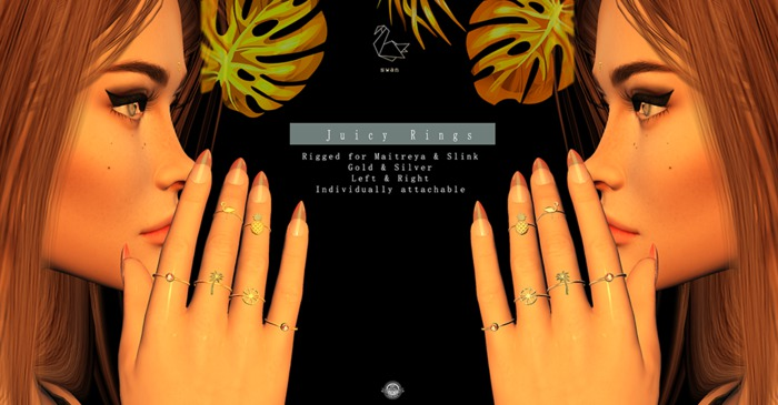 Swan Juicy Rings - Slink