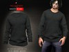 A&D Clothing - Sweater -Ricard- Ebony