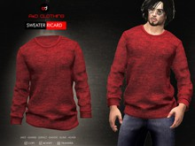 A&D Clothing - Sweater -Ricard- Red