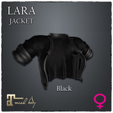 [JANGKA] LARA JACKET Black [Maitreya] ADD ME