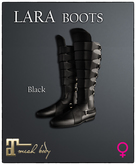 [JANGKA] LARA BOOTS Black [Maitreya] ADD ME