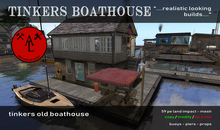 AL Tinkers Boathouse - Summer SALE - 20 %