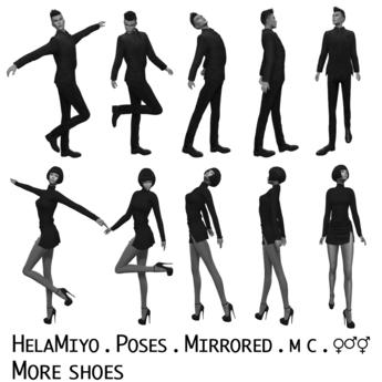 HelaMiyo :: Poses :: More shoes