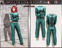 *IS* Asylum Outfit Female Teal