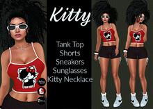 [DB] Short Set Kitty - Complete Outfit - Maitreya, Belleza, Slink