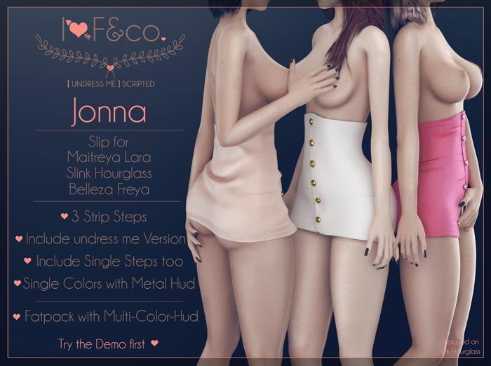 [I<3F] - Jonna [undress me] - Bubblegum