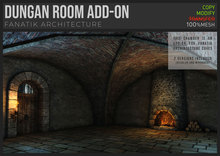 :Fanatik Architecture: CAVES Dungan room Add-on – castle chamber with fireplace add-on