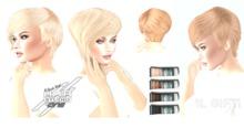 *DQ...Fem Short hair V2 (FATPACK) (1L GIFT)