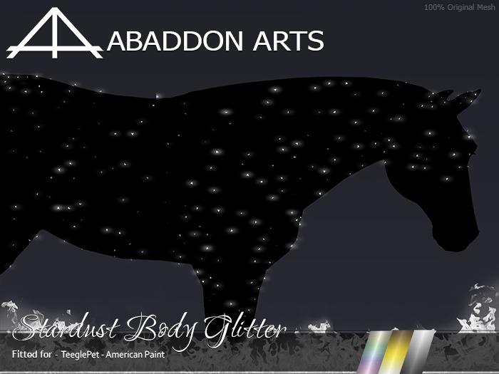 ABADDON ARTS - Stardust Body Glitter [Teeglepet American Paint]