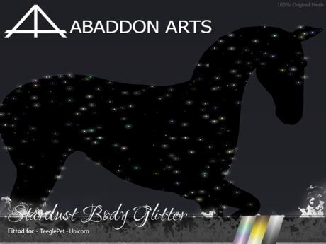 ABADDON ARTS - Stardust Body Glitter [Teeglepet Unicorn]