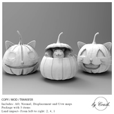 byCrash Home-Full perm mesh Halloween pumpkins  SALE