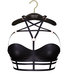 Limited Addiction - Misha Bra-Harness - Black